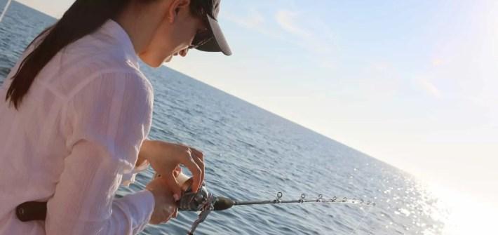 Afraid of Deep Sea Fishing
