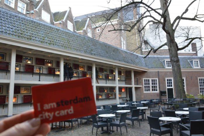 IAmsterdam City Card at the Amsterdam City Museum