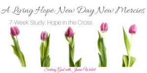 A Living Hope: A New Day New Mercies &Sitting Among Friends #68