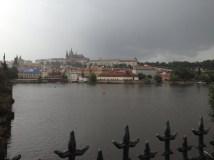 The Vltava River was lovely.