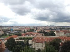 The view of Prague from the castle.