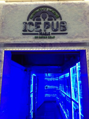 Entrance to the Ice Pub.