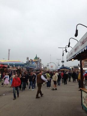 The carnival part of Oktoberfest.