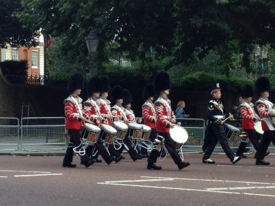 The big hullabaloo for the Queen's return.
