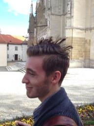 Gabe's hair got a bit weird.