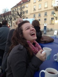 I don't remember what was so funny.