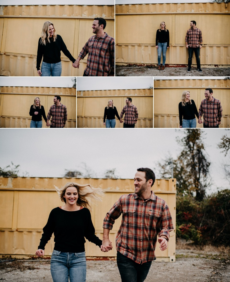 Casual Fall St Charles County Engagement Session
