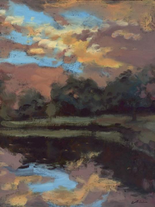 duckpond_sunset_pleinair_june15