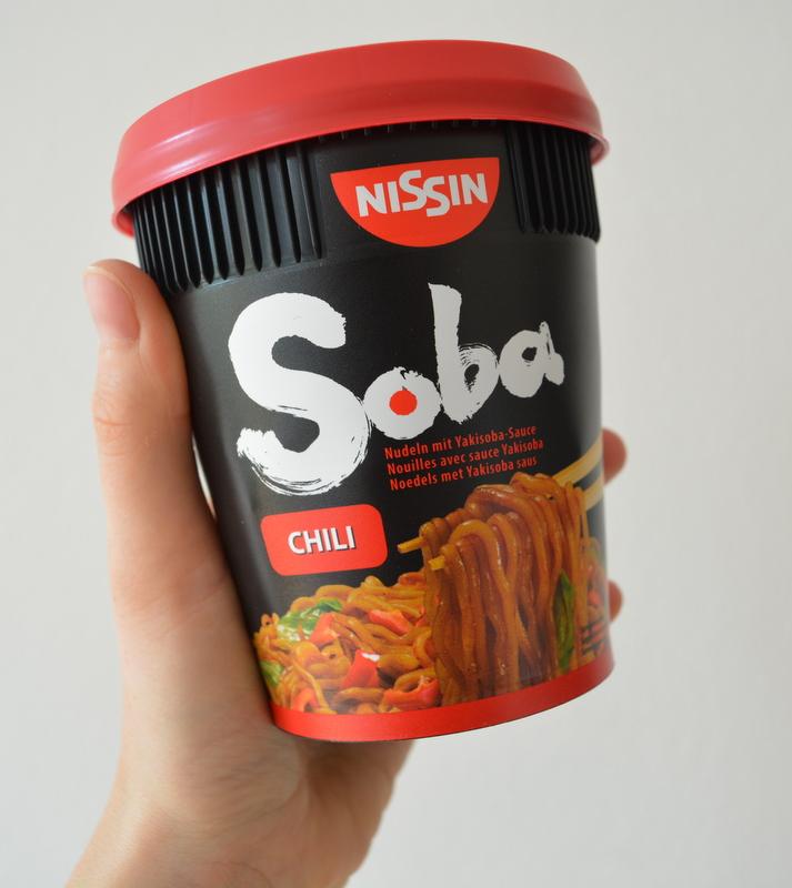 Nissin Soba Noodles Chili