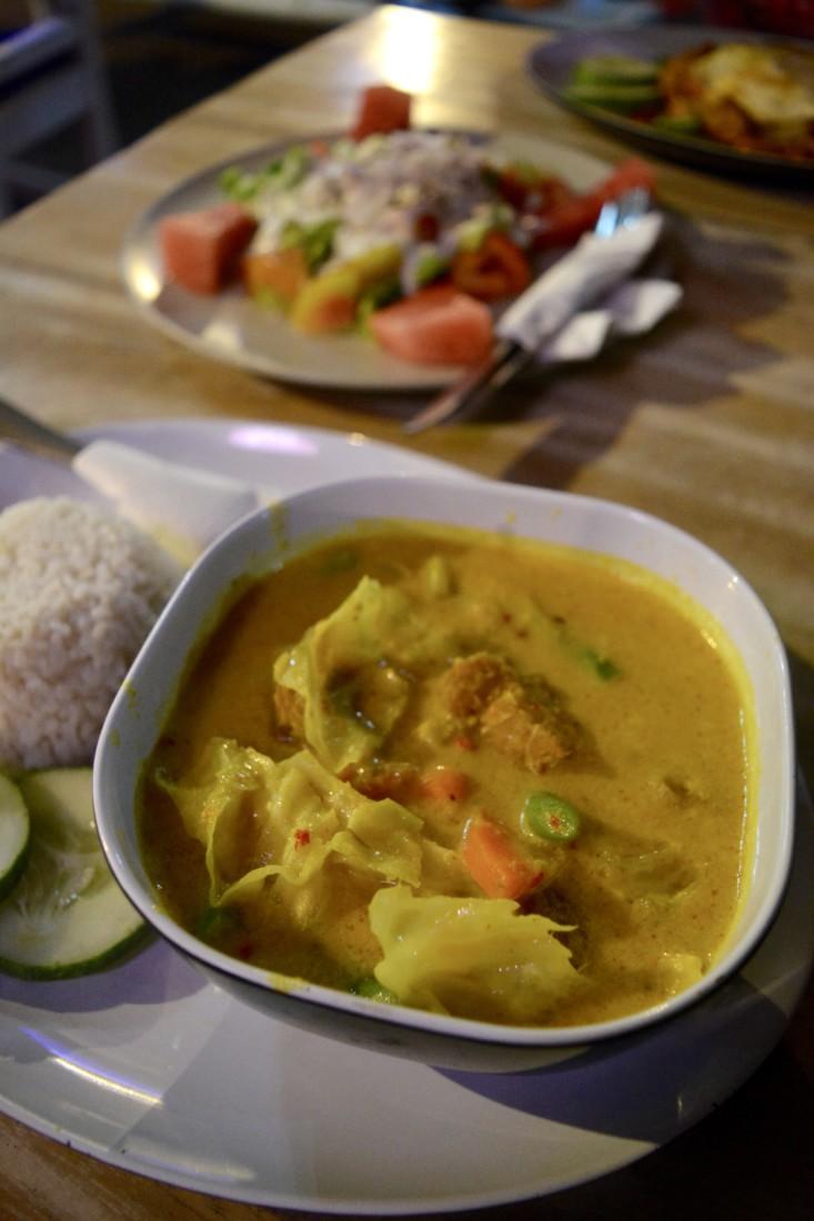 Tempeh Curry met kokos