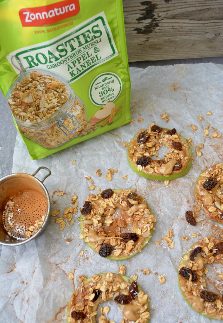 Zonnatura Roasties Appelsnack