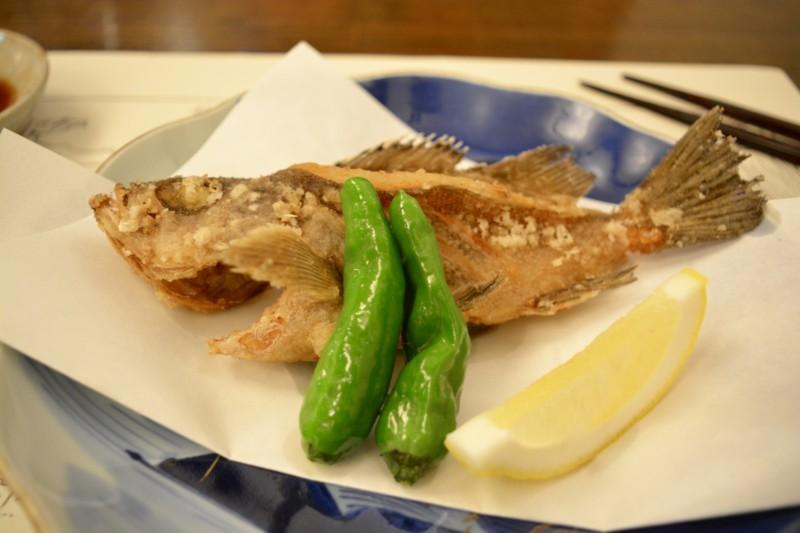 Kaiseki diner Fish