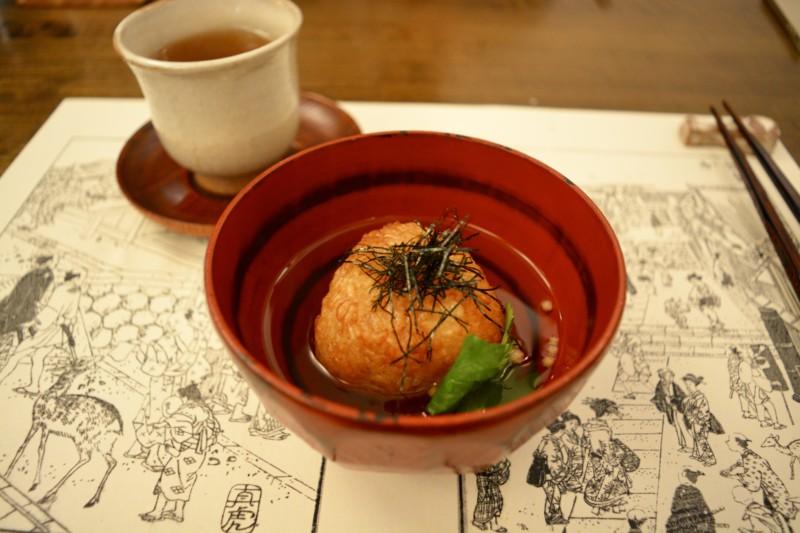Kaiseki diner rijst