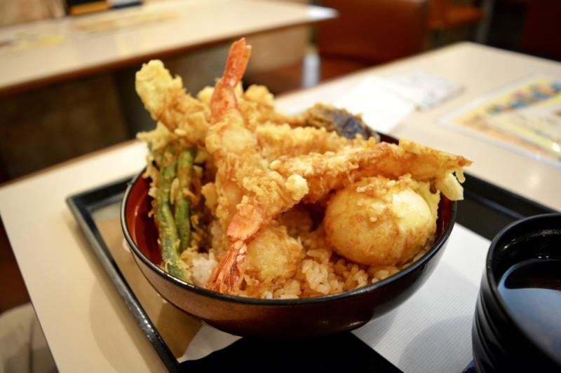 Tempura Tokyo food