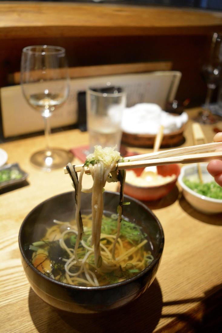 Soba Noodles Hot