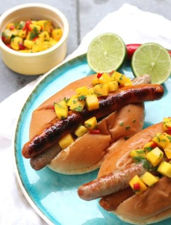 BBQ hotdogs www.jaimyskitchen.nl