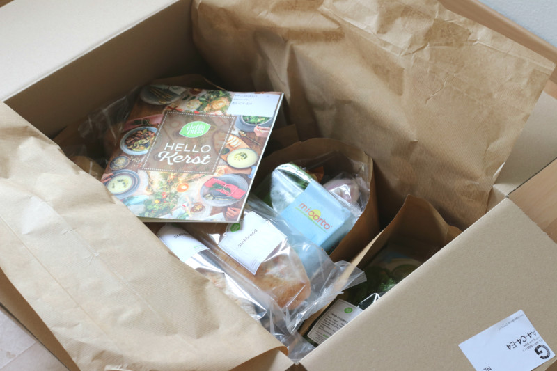 Hello Fresh Box Kerst www.jaimyskitchen.nl