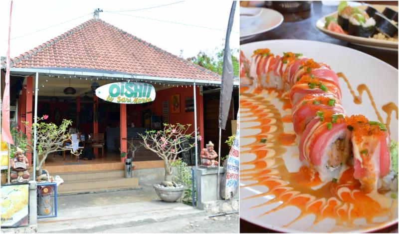 Oishii Sushi Nusa Lembongan www.jaimyskitchen.nl