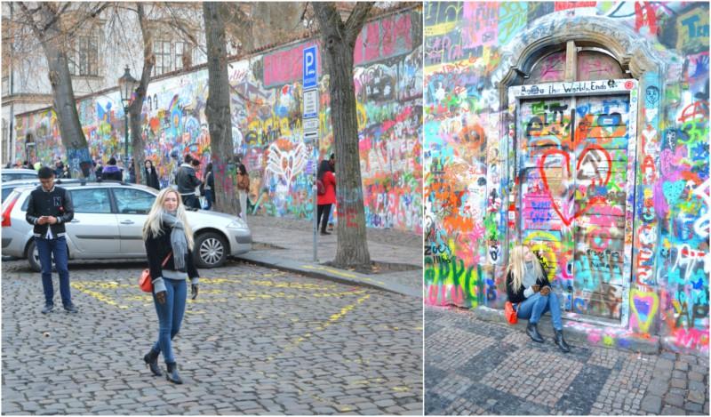 John Lennon Wall Praag www.jaimyskitchen.nl