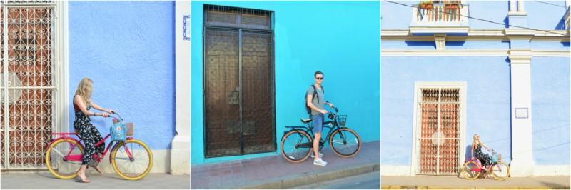 Nicaragua Granada fietsen www.jaimyskitchen,nl