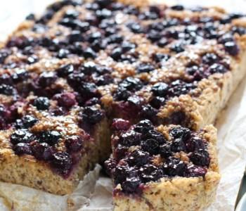 Quinoa en blauwe bessen ontbijt www.jaimyskitchen.nl