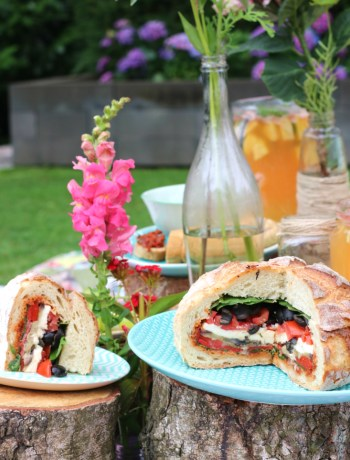 Picknick brood vegetarisch www.jaimyskitchen.nl