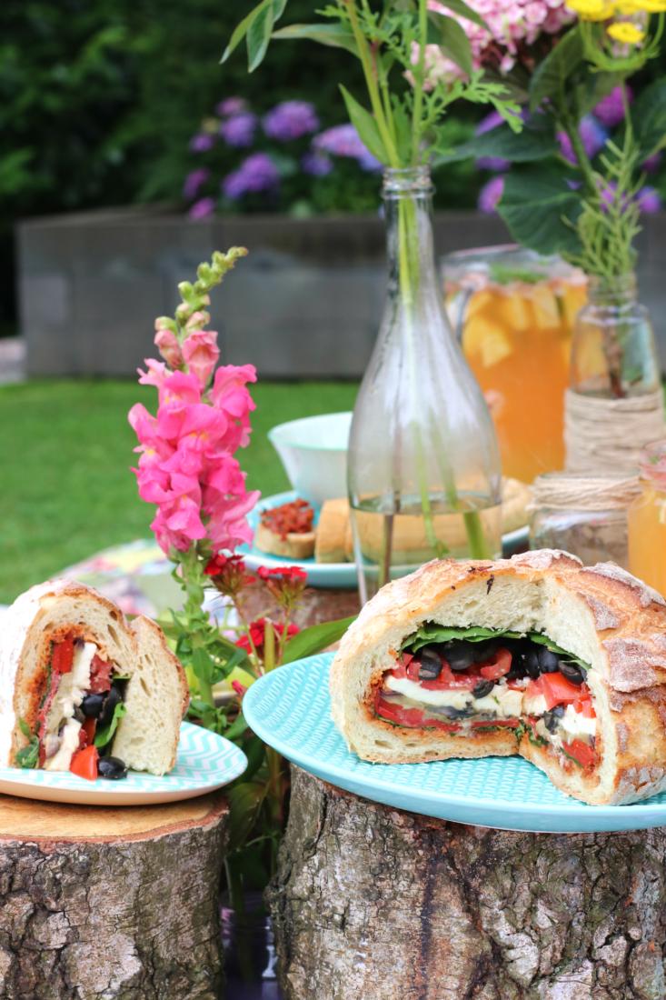 Picknick brood vegetarisch www.jaimyskitchen.nl