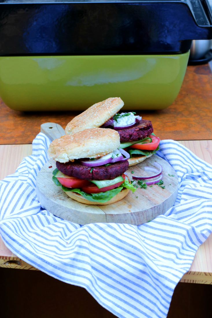 vegetarische bieten burger www.jaimyskitchen.nl