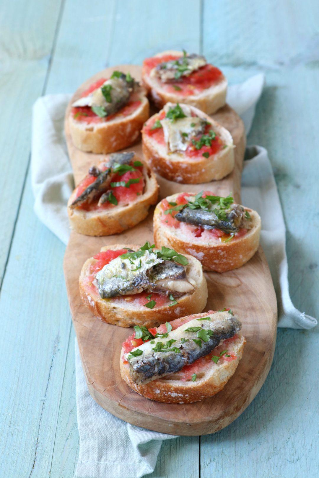 Recept Pan con tomate met sardine www.jaimyskitchen.nl