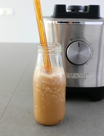 Recept frappuccino met princess blender www.jaimyskitchen.nl
