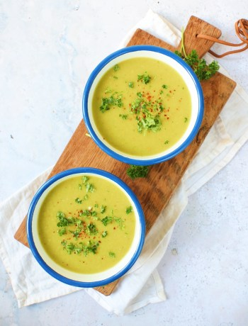 Recept Prei en venkel soep www.jaimyskitchen.nl