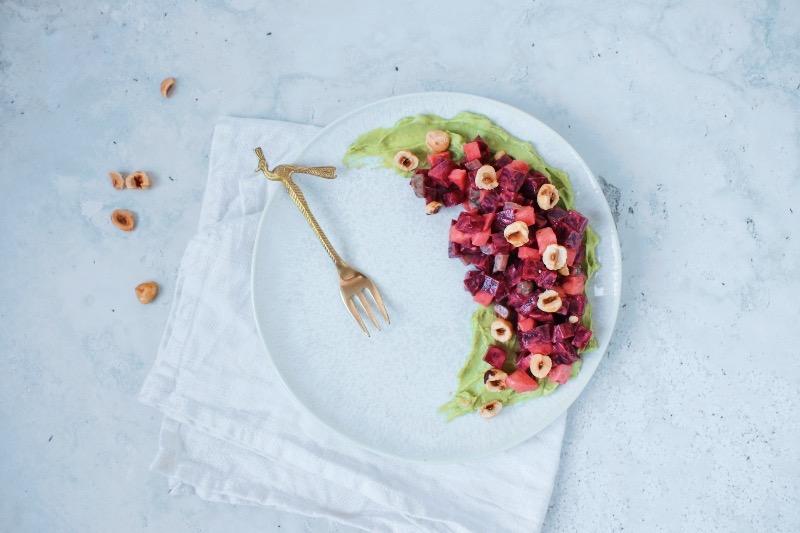 Vegetarische bieten tartaar www.jaimyskitchen.nl