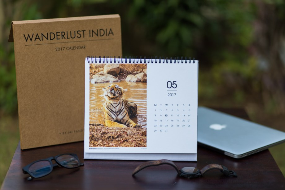 2017 Desk Calendar By Jai Pandya