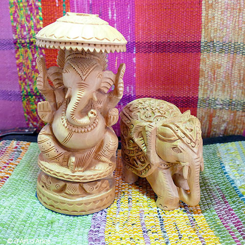 Sculptures Ganesh - Elephant