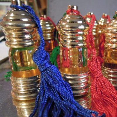 Flacons de parfum indien