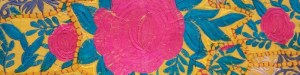 Bandeau tissu indien brodé