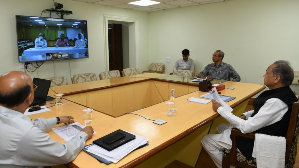 Video conferencing on Corona arrange for adequate quantity of ventilators and test kit – CM 25