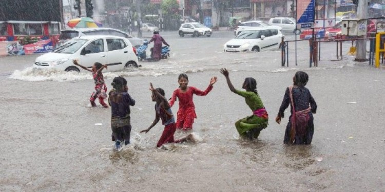 Pratapgarh recorded 25 mm rainfall in the last 24 bells in the state