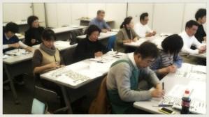 野田商工会議所 手書き販促セミナー 講習風景