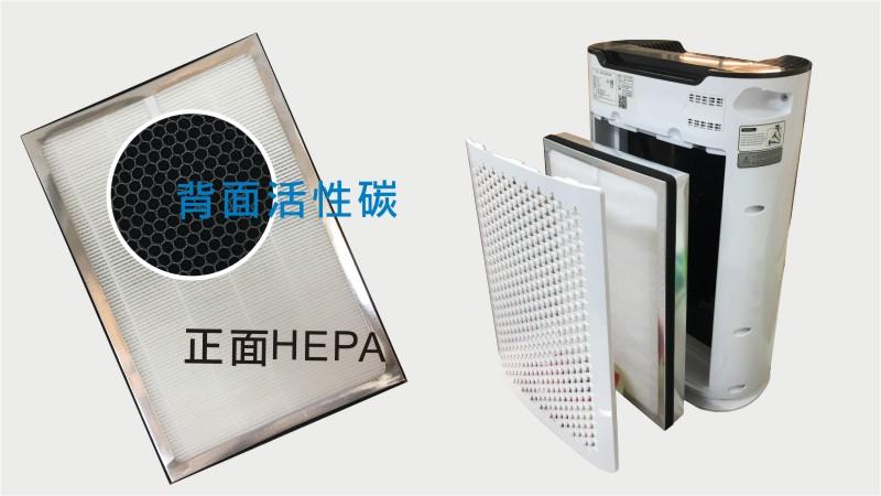 jair空氣清淨機|HEPA+顆粒活性案多重濾網