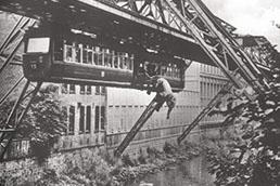 Wuppertal Schwebebahn 3 - J'ai Une Ouverture - Tour du Monde - 258