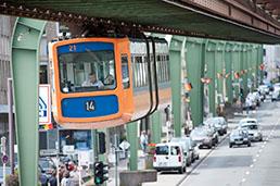 Wuppertal Schwebebahn - J'ai Une Ouverture - Tour du Monde - 258