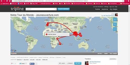 Cartes et Itinéraires - Blog Voyage - Tripline