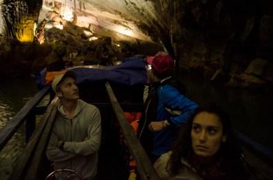 Marc, Wolter et Eve - Grotte de Phong Nha - Vietnam