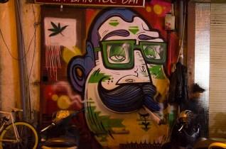 Street Art - Hanoi - Vietnam - J'ai Une Ouverture - Tour du Monde (2)