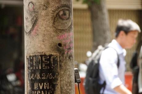 Street Art - Ho Chi MInh -Vietnam - J'ai Une Ouverture - Tour du Monde (14)