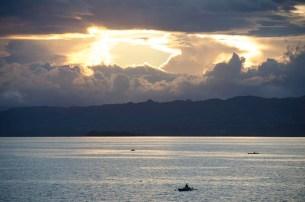 L'île de Camiguin - Philippines - Un lever de soleil fait main