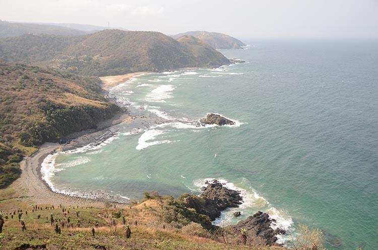 Il y avait des baleines sur notre chemin de randonnée - Port Saint Jones - Afrique du Sud (5)