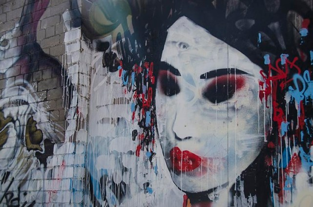 Une peinture à Melbourne