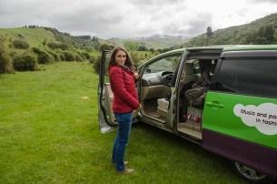 La joie du van - Nouvelle Zélande - Jaiuneouverture